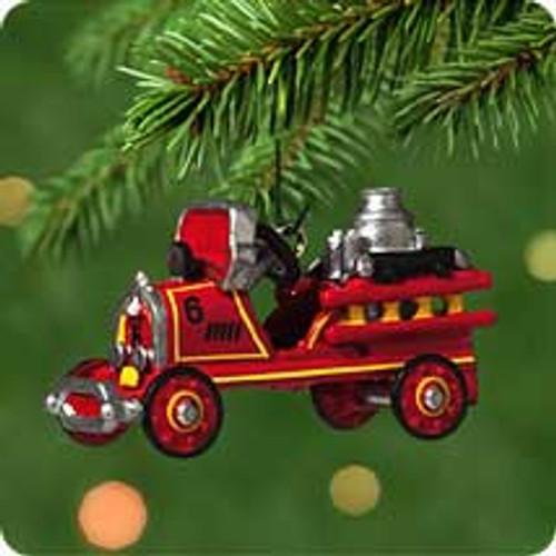2001 Kiddie Car Mini #7 - 1924 Toledo Fire Engine