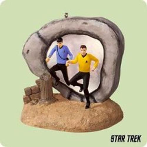 2004 Star Trek - City On The Edge Hallmark ornament
