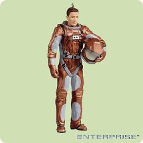 2004 Star Trek - Commander Tucker Hallmark ornament