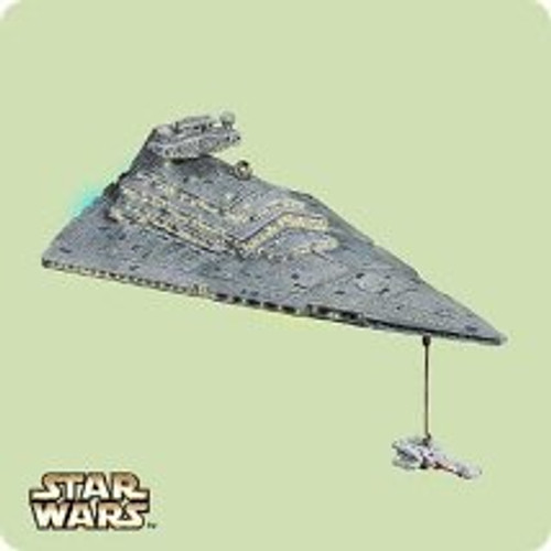 2004 Star Wars - Star Destroyer Hallmark ornament