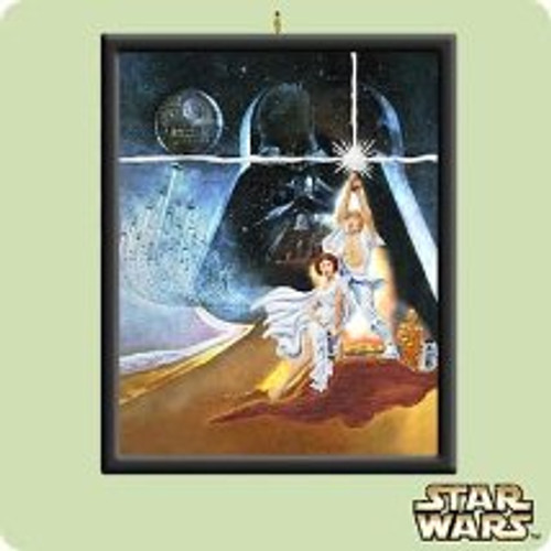 2004 Star Wars - Theater Sheet Hallmark ornament