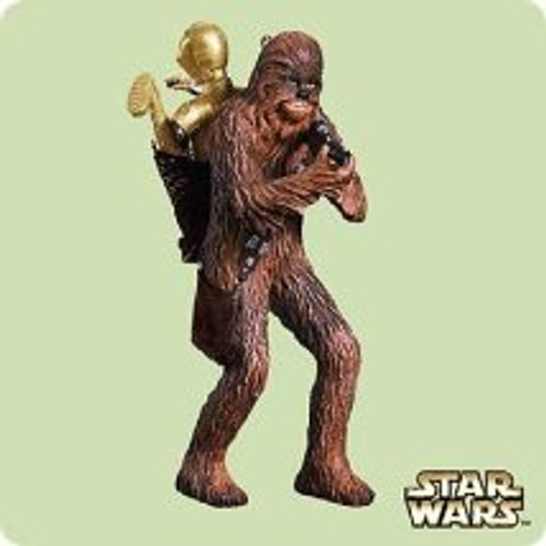2004 Star Wars #8 - Chewy Hallmark ornament
