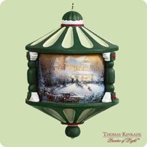 2004 Thomas Kinkade - Victorian Christmas Hallmark ornament