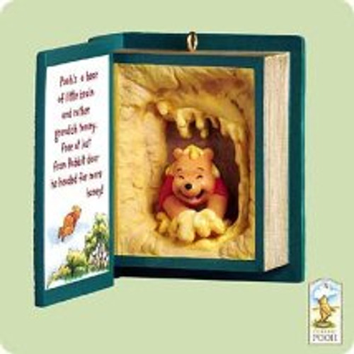 2004 Winnie The Pooh - Book #7 Hallmark ornament
