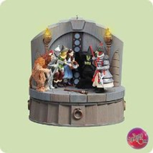 2004 Wizard Of Oz - I'm Melting Hallmark ornament