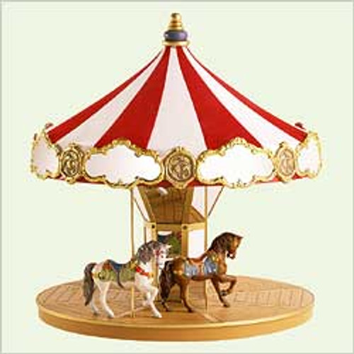 2004 Carousel Display Stand Hallmark ornament