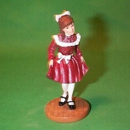 2002 American Girl - Samantha Hallmark ornament