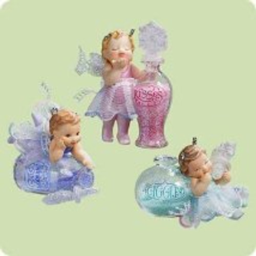2004 Frostlight Faeries Too Hallmark ornament