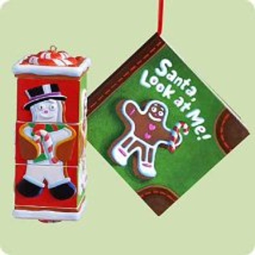 2004 Santa Look At Me! Hallmark ornament
