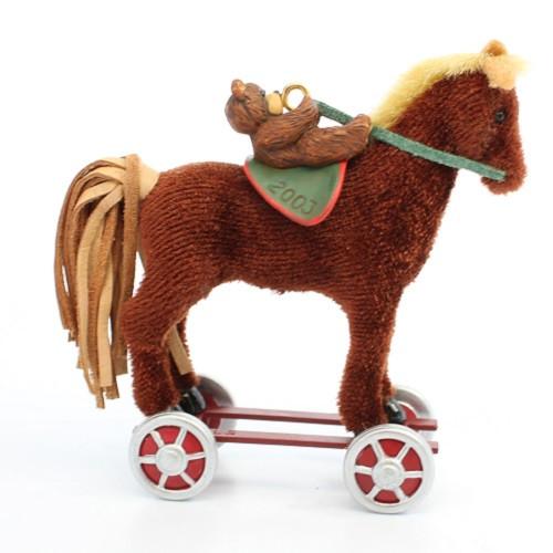 2003 A Pony For Christmas #6 - Colorway Hallmark ornament