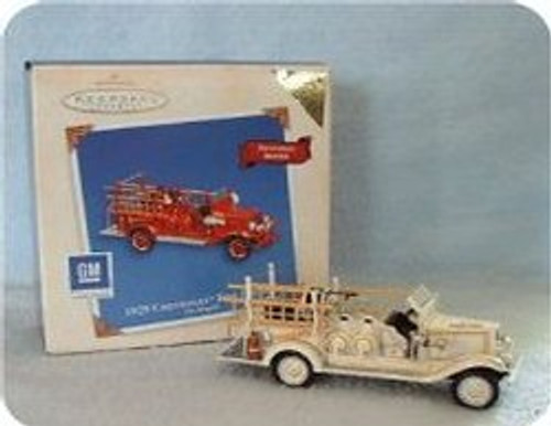 2003 Fire Brigade #1 - 1929 Chevrolet - Colorway Hallmark ornament