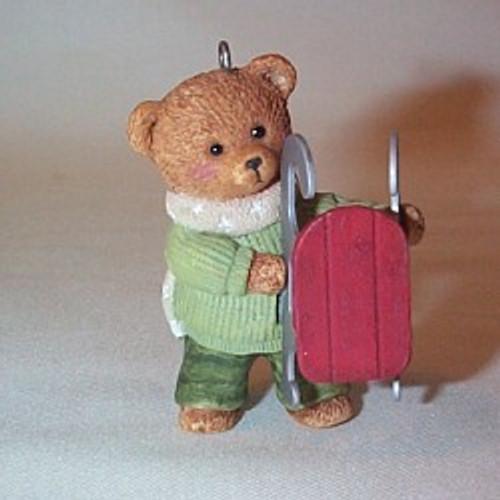 2002 Snow Cub Club - Dexter Next Hallmark ornament