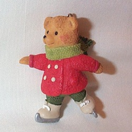 2002 Snow Cub Club - Gracie Skates Hallmark ornament