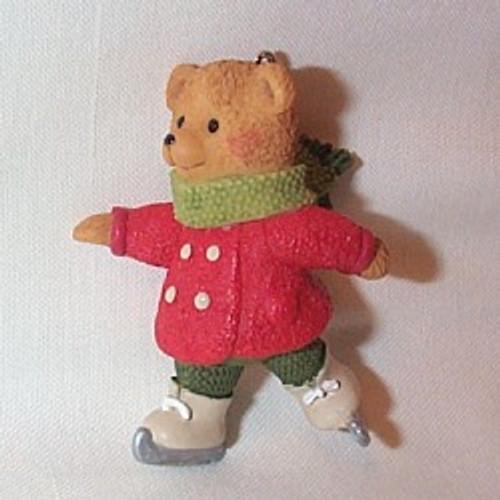 2002 Snow Cub Club - Gracie Skates Hallmark ornament