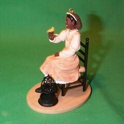 2003 American Girl - Addy Hallmark ornament