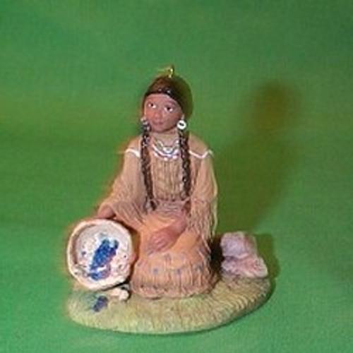 2002 American Girl - Kaya Hallmark ornament