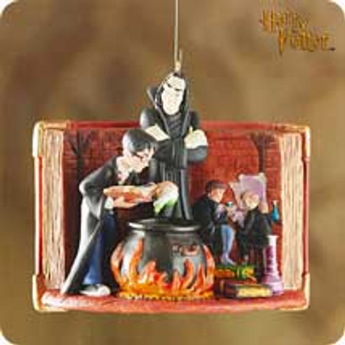 2001 Harry Potter - The Potions Master Hallmark ornament