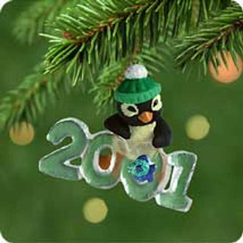 2001 Cool Decade #2 - Penguin Hallmark ornament