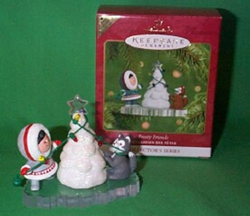2001 Frosty Friends #22 - Colorway Hallmark ornament