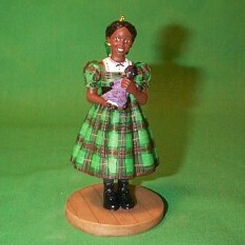 2002 American Girl - Addy Hallmark ornament