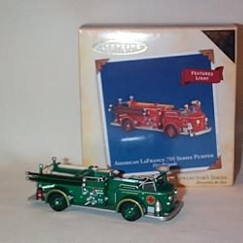 2004 Fire Brigade #2 - Am. Lafrance - Colorway Hallmark ornament