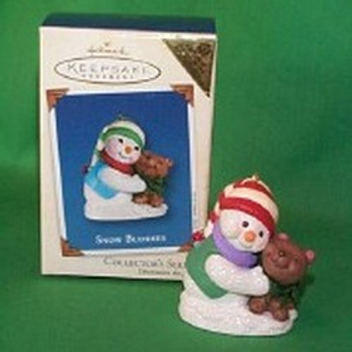 2002 Snow Buddies #5 - Bear - Colorway Hallmark ornament