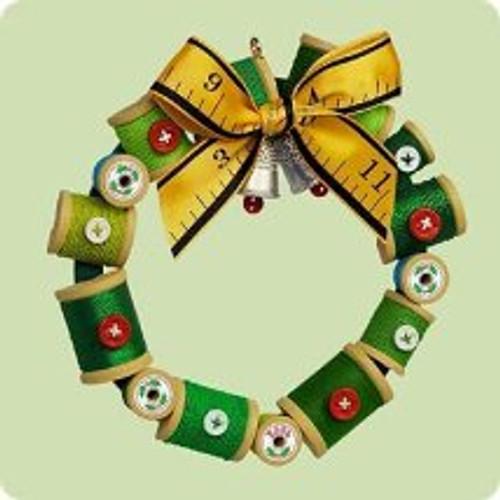 2004 Sew Merry Sew Bright Hallmark ornament