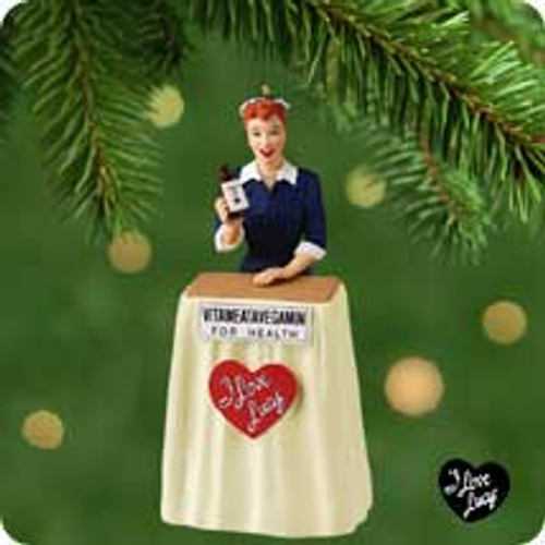 2001 Lucy Does Tv Hallmark ornament
