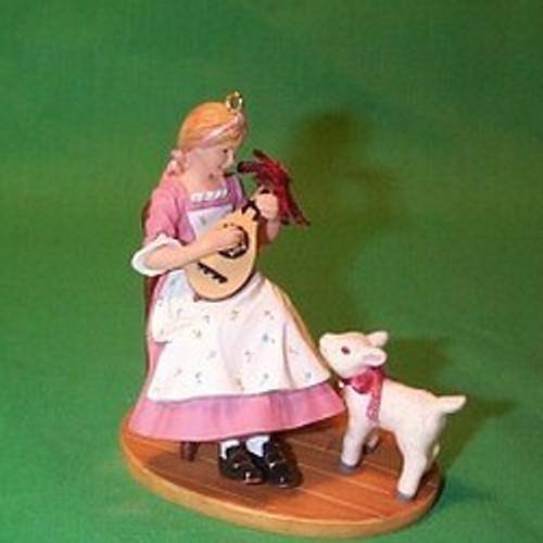 2003 American Girl - Felicity Hallmark ornament