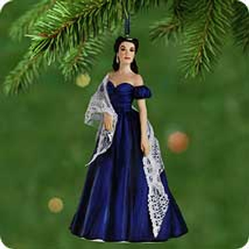 2001 Portrait Of Scarlett O'Hara Hallmark ornament