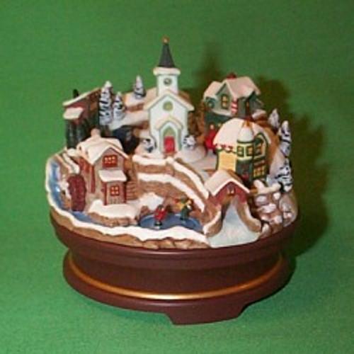 2004 Joyful Christmas Village - Club Hallmark ornament
