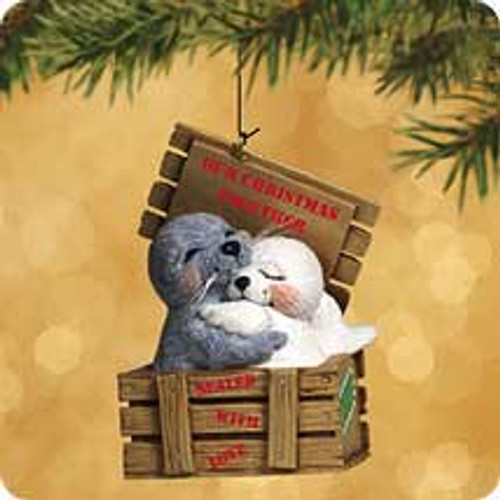 2002 Our Christmas Together - Seals Hallmark ornament