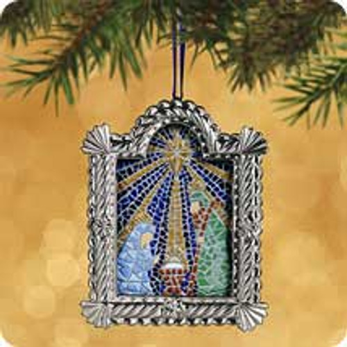 2002 Welcoming The Savior Hallmark ornament