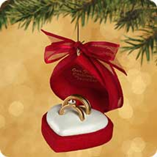 2002 1st Christmas Together - Ring Case Hallmark ornament