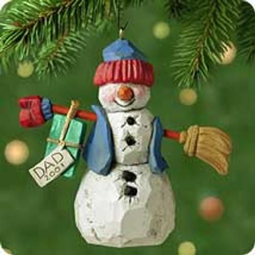 2001 Dad Hallmark ornament