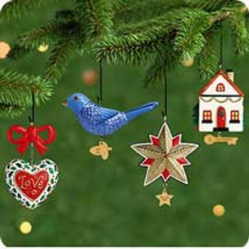 2001 Our Christmas Together Hallmark ornament