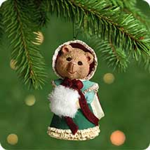 2001 Granddaughter Hallmark ornament