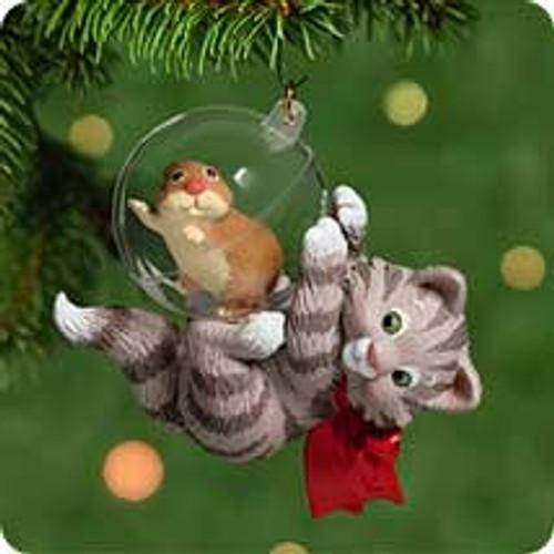 2001 Mischievous Kittens #3 Hallmark ornament