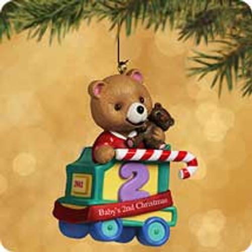 2002 Baby's 2nd Christmas - Bear Hallmark ornament