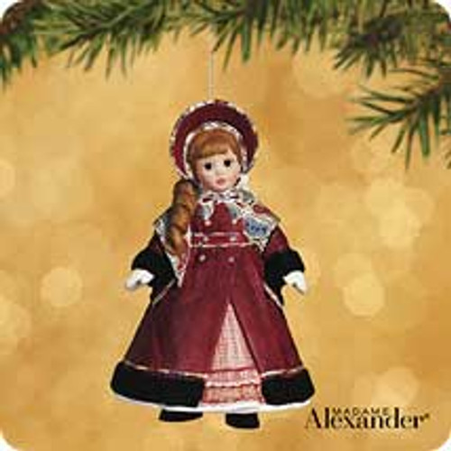 2002 Madame Alexander - Little Women #2 - Jo Hallmark ornament