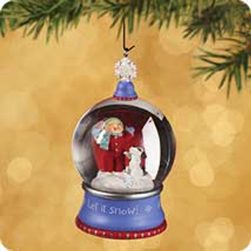 2002 First Snow Hallmark ornament