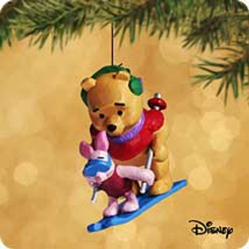 2002 Winnie The Pooh - On The Slopes