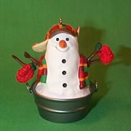 1999 Playful Snowman