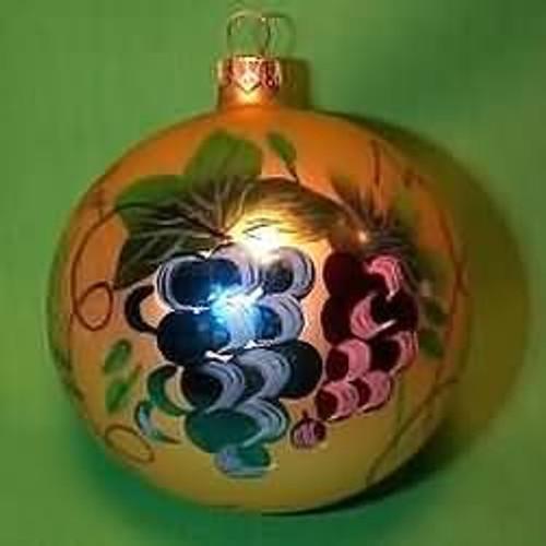 """Round Ceramic Christmas Ornament /""""#1 Cat/"""""""