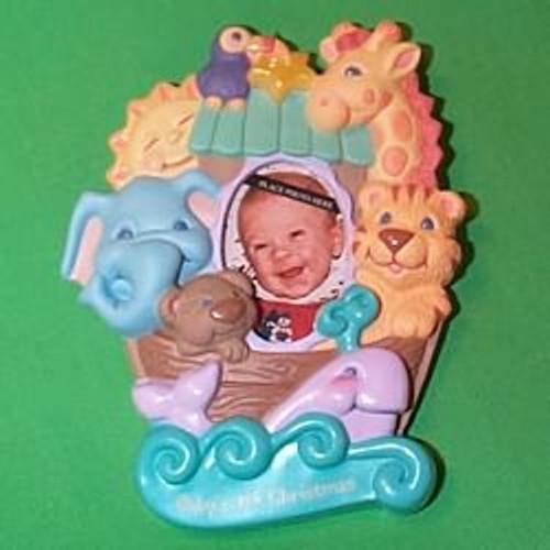 1999 Baby's 1st Christmas - Photoholder