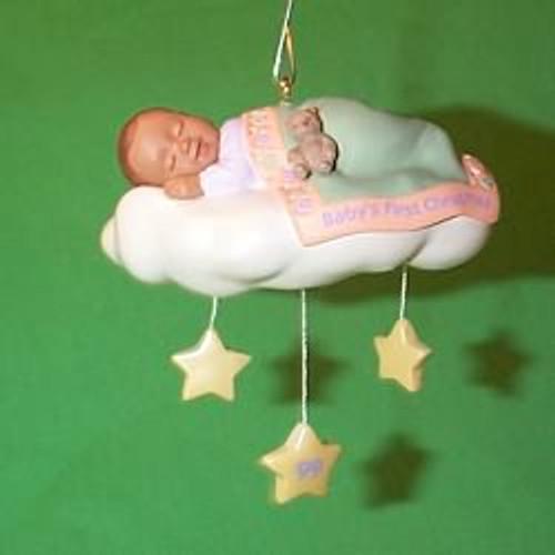 1999 Baby's 1st Christmas - Cloud