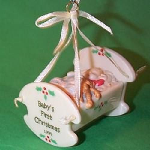 1999 Baby's 1st Christmas - Crib