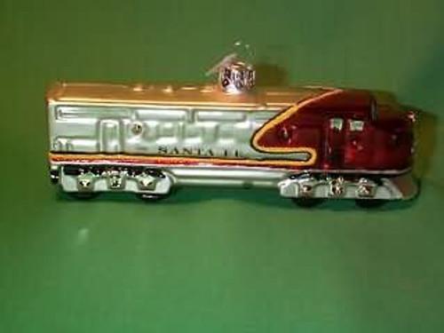 1999 Lionel 1050 Santa Fe - Blown Glass