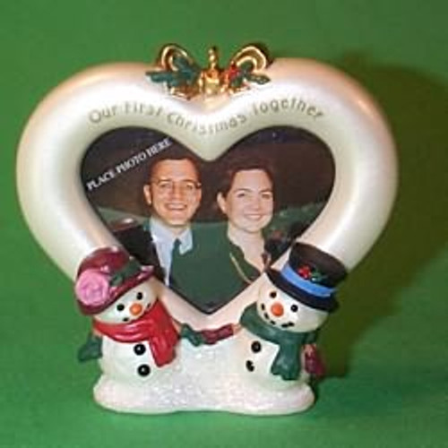 1999 1st Christmas Together - Photo