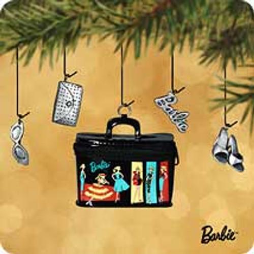 2002 Barbie - Travel Case